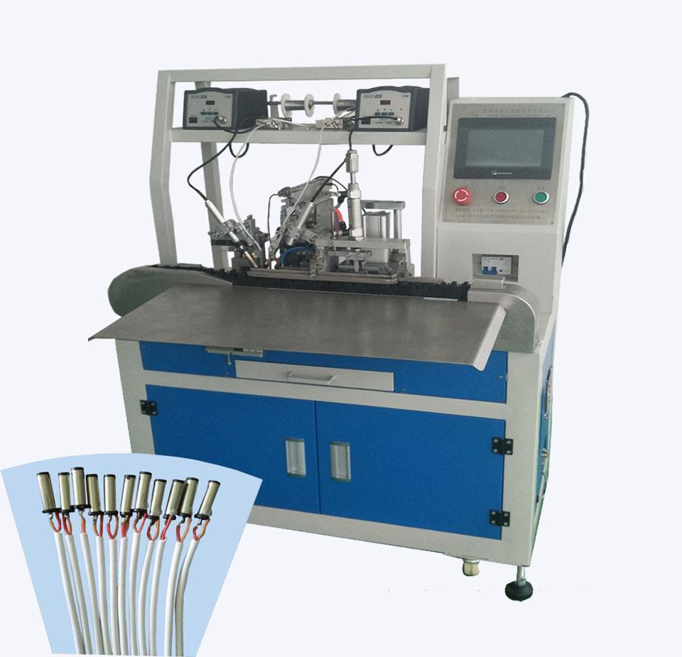 DC头自动焊锡机,自动焊锡机器人