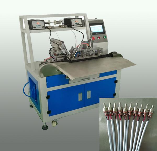 莲花头自动焊锡机